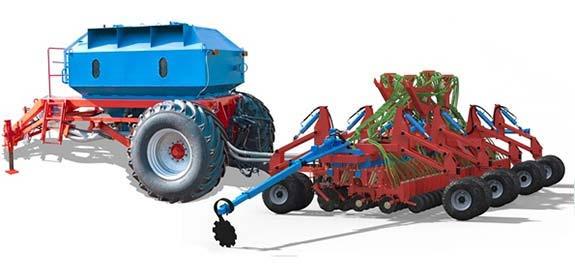 Сеялка зерновая для минимальной обработки почвы (Донэйр-МиниТилл)