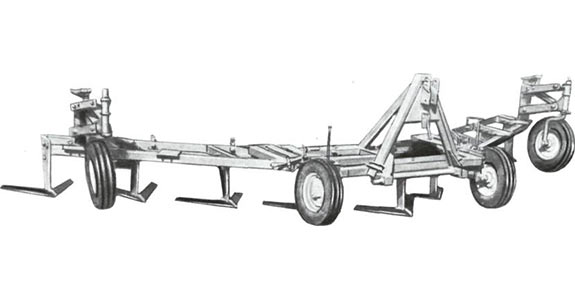 Культиватор-плоскорез широкозахватный (КПШ-9)