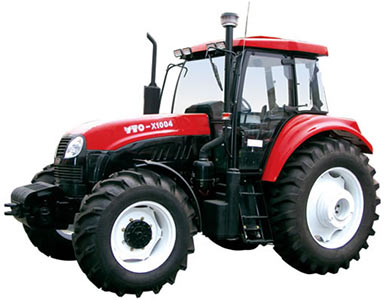 Трактор колёсный (YTO-X1000)