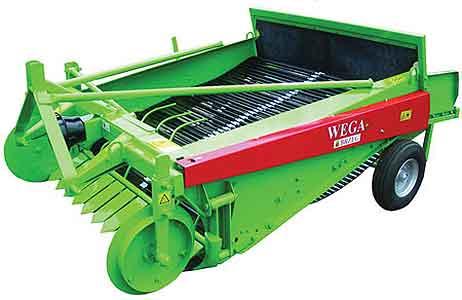 Копатель двухрядный для картофеля и овощей (Wega)