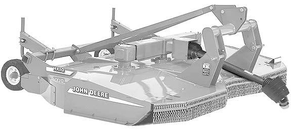 Косилка роторная усиленная (John Deere HX (CX))