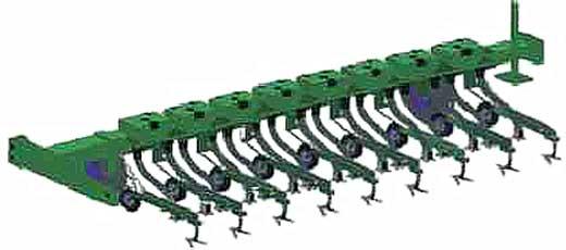 Культиваторы навесные для высокостебельных культур (КРН-4,2Б-03 (5,6Б-04))
