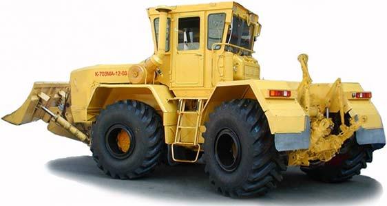 Трактор промышленный (полноприводный тракторный модуль) (Кировец К-703М(А))
