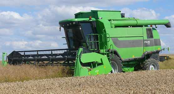 Комбайн зерноуборочный роторный (Deutz Fahr 7545 RTS)