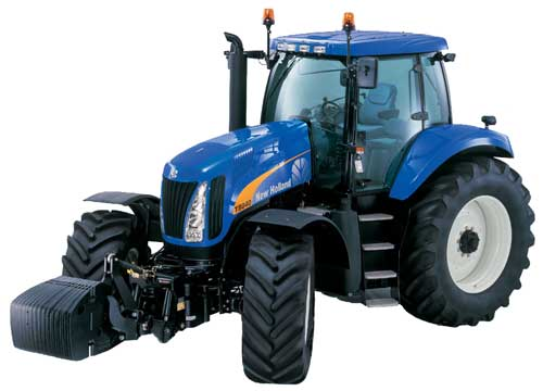 Трактор (New Holland T8000)
