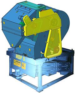 Машина предварительной очистки с решетным очистителем (решетной приставкой) (МПР-50С)