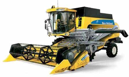 Комбайн зерноуборочный (New Holland CS 6000)
