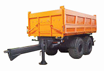 Прицеп самосвальный тракторный (СЗАП-8582Т)