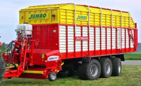 Прицеп-подборщик (Jumbo)