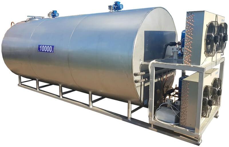Охладитель молока закрытого типа (ОМЗТ)