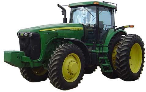 Трактор колесный (John Deere 8020)
