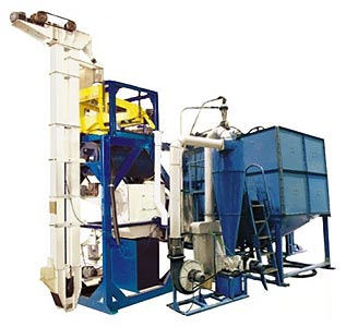 Агрегат очистки и подготовки зерна к помолу (ПТМА)