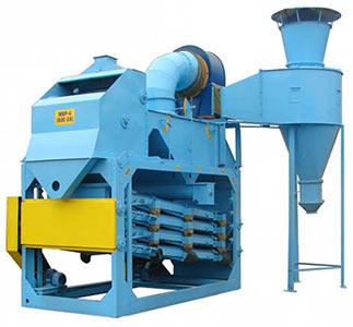 Машина зерноочистительная воздушно-решетная (МВР-6 (ОЗС-50))