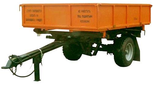 Полуприцеп тракторный самосвальный (ПСМ-2,5)