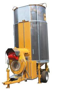 Зерносушилка мобильная (Mecmar CPT 7)