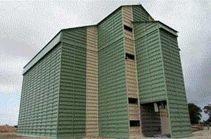 Зернохранилище элеваторного типа