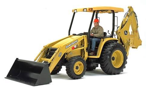 Экскаватор-погрузчик тракторный (John Deere 110 TLB)