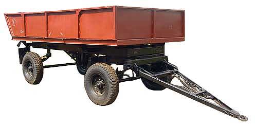 Прицеп тракторный самосвальный (2ПТС-4,5С)