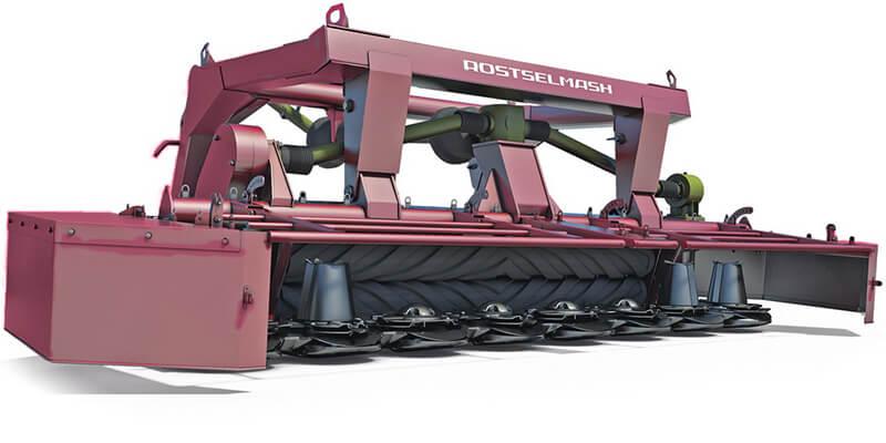 Косилка роторная фронтальная (Grass Mower 350 (КРФ-350))