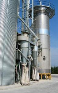Зерносушилка башенная (Mecmar)