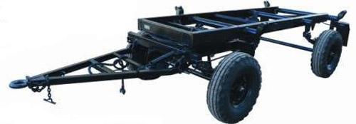 Шасси для тракторного прицепа (2ПТС-4,5(5))