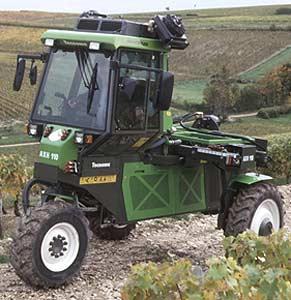 Шасси для работы на виноградниках (AXH 110)