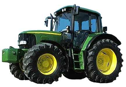 Трактор универсально-пропашной (John Deere 6030)