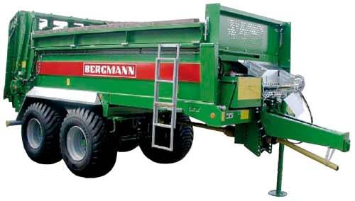 Разбрасыватель органических удобрений (Bergmann M/TSW)