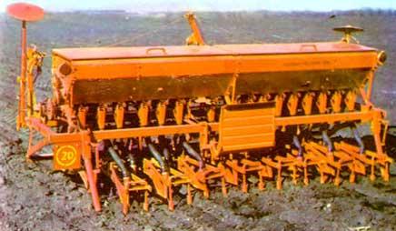 Сеялка зернотукотравяная навесная-прицепная (СЗНП-2,4)