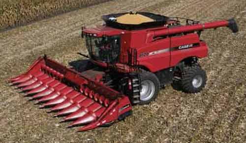 Жатка для уборки кукурузы с измельчителем (Case IH 2600)