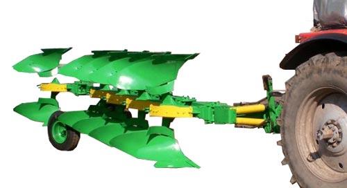 Плуг 5-ти корпусный оборотный полунавесной  (ПОПР-5-40)