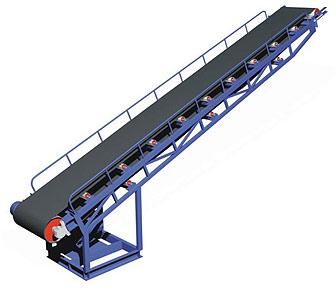 Конвейер ленточный роликовый стационарный (КЛ(Т))