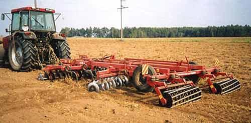 Агрегат для минимальной обработки почвы (АКМ-4)