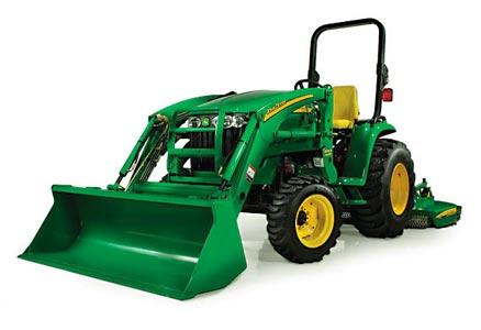 Трактор компактный (John Deere 3000)