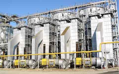 Элеваторы на базе зерносушилок серии СЗТ и СП (СП-50)
