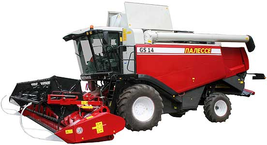 Комбайн зерноуборочный самоходный  (Палессе GS14)
