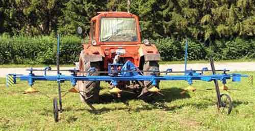 Осветлитель посевов свеклы роторный (ОПС-5,4Р)