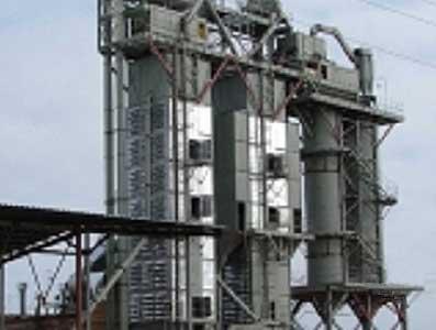 Зерносушилка стационарная шахтная рециркуляционная (ДСП)