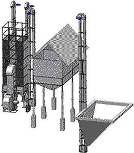 Комплекс зерноочистительный сушильный (ЖЗСК)