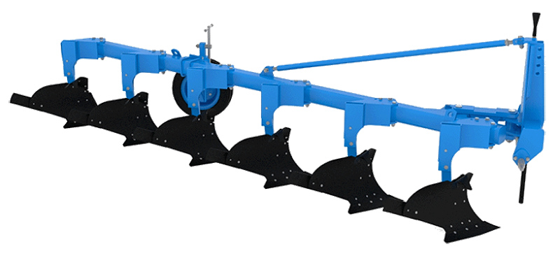 Плуг 4-6-ти корпусной лемешный навесной (ПЛНР)