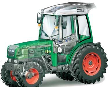 Трактор (Fendt 200 V/F/P)