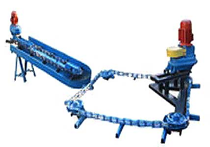 Конвейер скребковый навозоуборочный (КСГ-4)