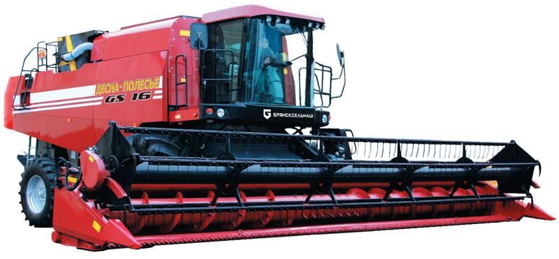 Комбайн зерноуборочный Палессе GS16 (КЗС-1624-1)