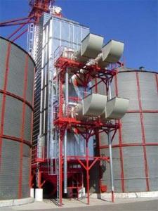 Зерносушилка стационарная жалюзийного типа (СВМ)
