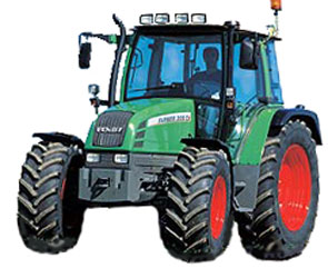 Трактор (Fendt 400 Vario)
