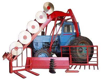 Агрегат сменно-модульный для работы в садах (АМС-7)