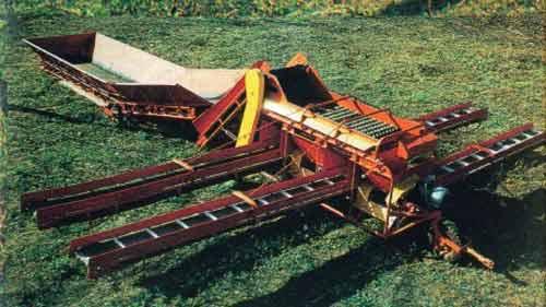 Пункт картофелесортировальный (КСП-15Б)