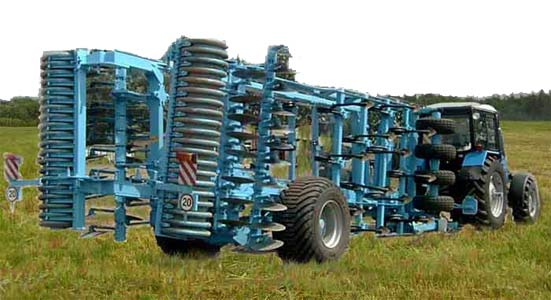 Агрегат многофункциональный почвообрабатывающий (АМП-5)
