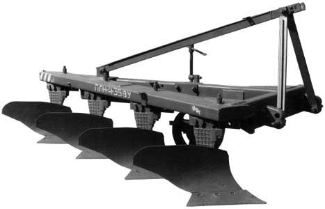 Плуг 3-5-ти корпусный навесной усиленный (ПЛН-3(4,5)-35ВУ)