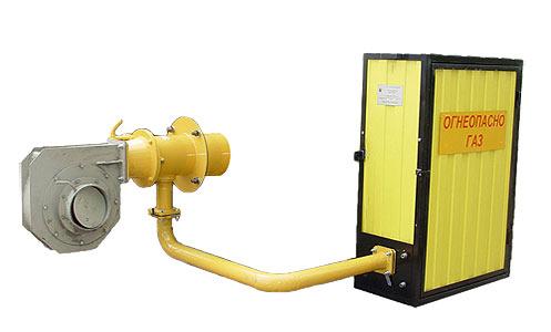 Горелка блочная газовая (АБГ-Г и ГТГ)
